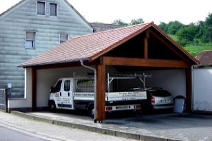 Appel Werner , Zimmerei-Holzbau-Sägewerk - Carporte